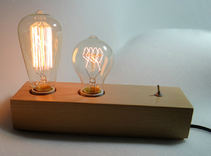 Father And Son Edison Desk Lamp