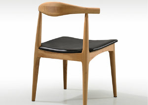 Homlly Wegner Ash Wood Elbow Chair
