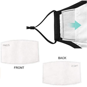 Homlly Washable PM2.5 Face Mask With Adjustable Straps Mask