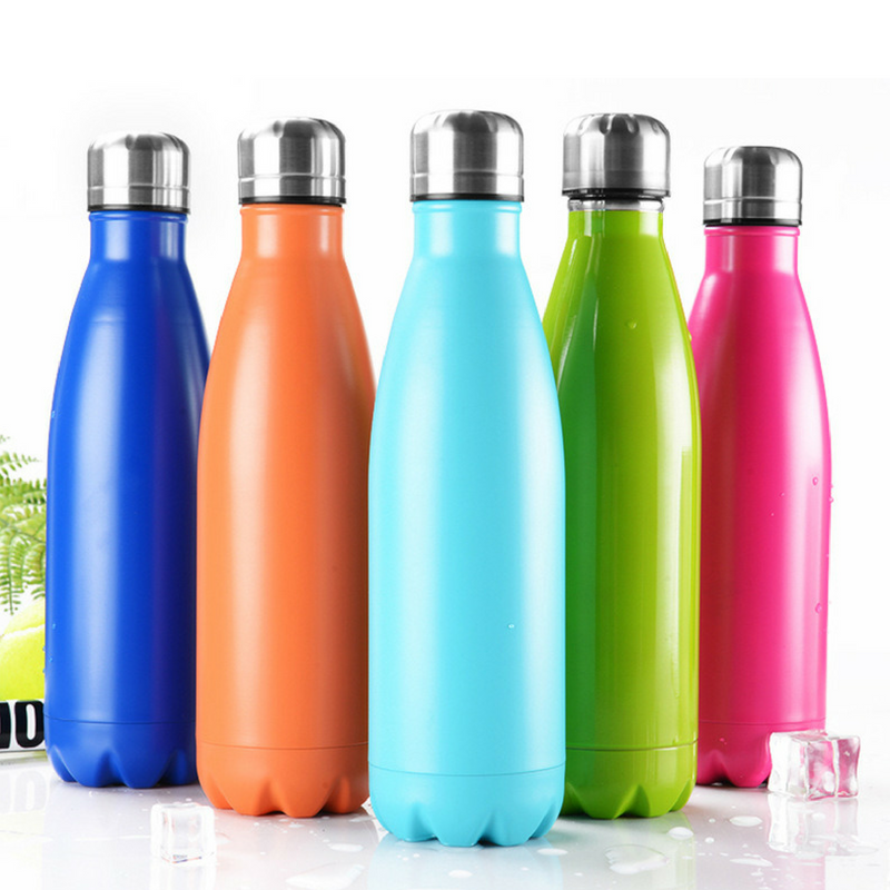 Bowling Pin Stainless Steel Insulated Bottle