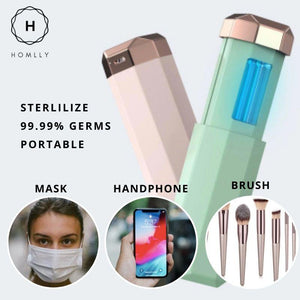 Homlly Mini UV Sterilizer Lipstick