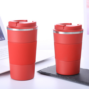 Homlly Insulated Stainless Steel Tumbler with Leakproof Lid