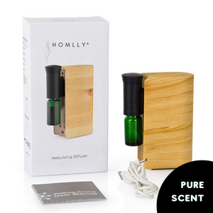 Homlly Otii Portable Waterless Aroma Diffuser Nebulizer