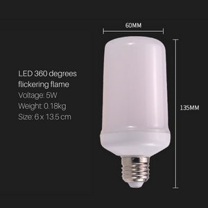Fire Flame LED Light Bulb E27
