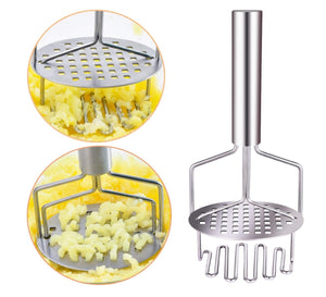 Homlly Stainless Steel Potato Masher