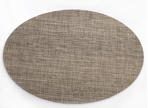Homlly Ashely Oval Table Mat Set of 4pcs