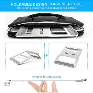 Homlly Aluminum Portable Foldable Laptop Support Stand