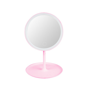 Homlly Basic LED Lights Table Beauty Mirror