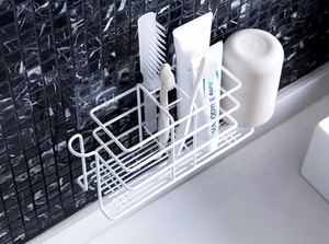Homlly Line Toothbrush Holder Tray