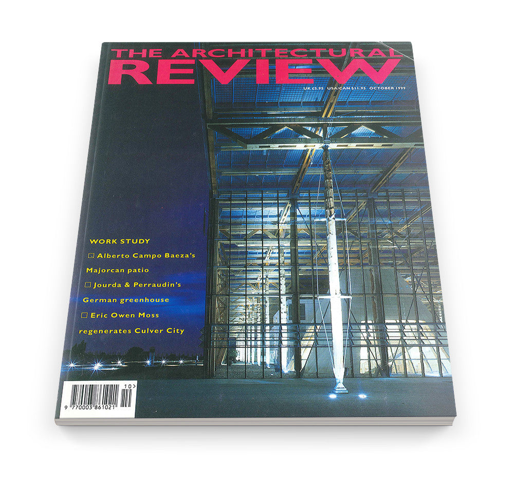 The Architectural Review Issue 1232, October 1999