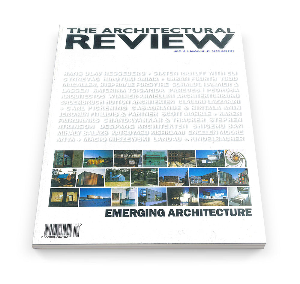 The Architectural Review Issue 1234, December 1999