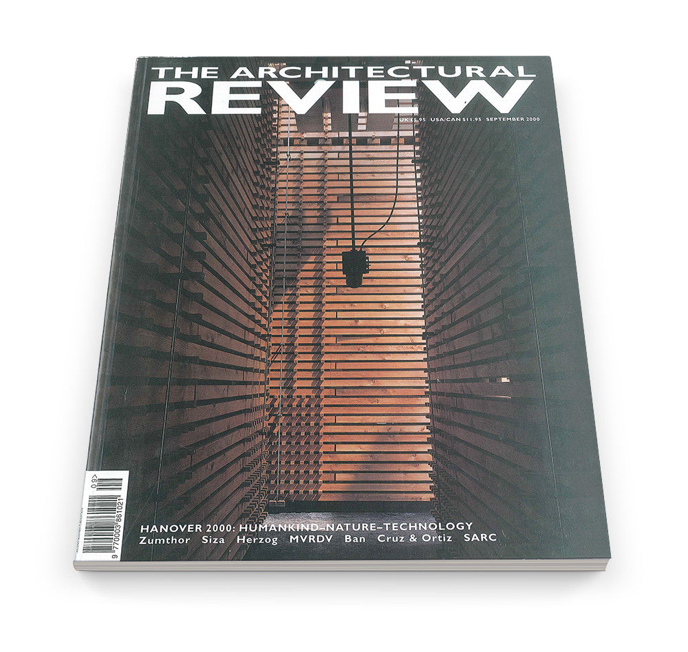 The Architectural Review Issue 1243, September 2000