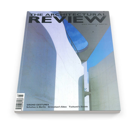 The Architectural Review Issue 1254, August 2001