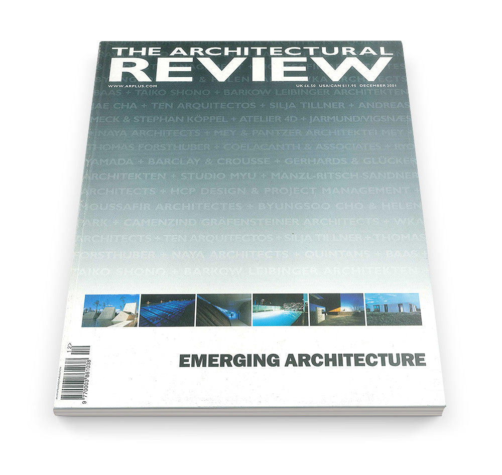The Architectural Review Issue 1258, December 2001
