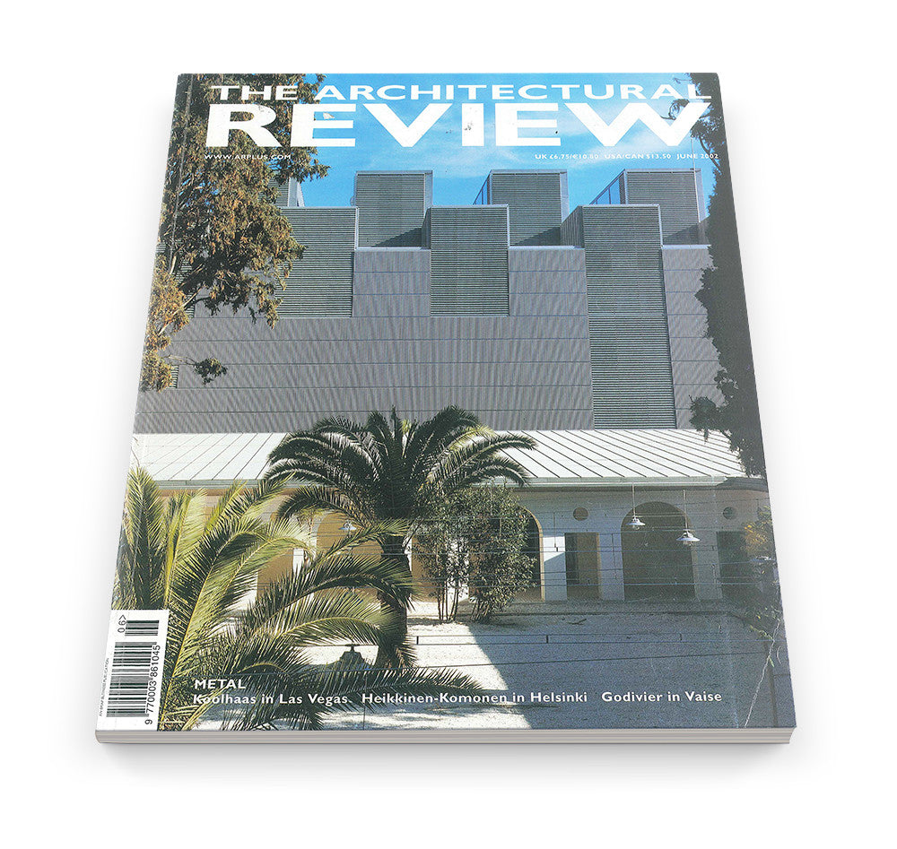 The Architectural Review Issue 1264, June 2002
