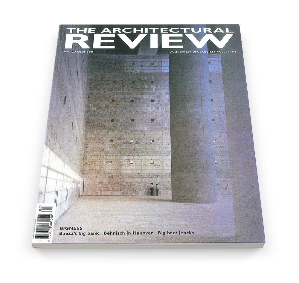 The Architectural Review Issue 1266, August 2002