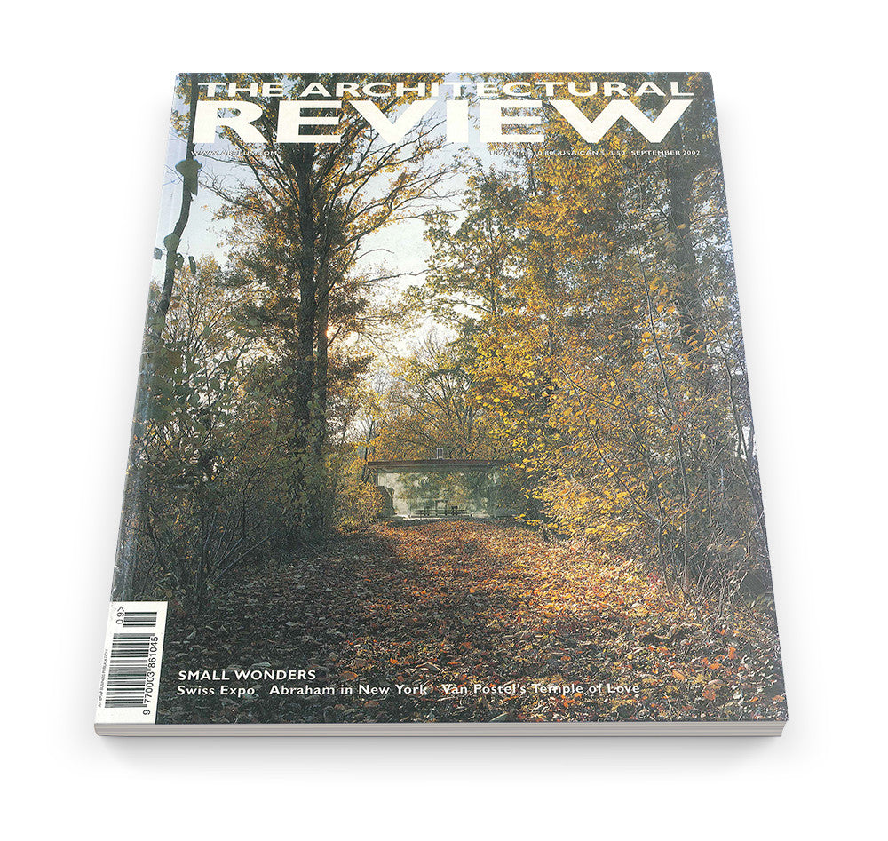 The Architectural Review Issue 1267, September 2002