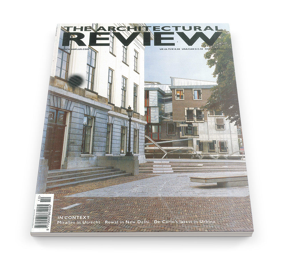 The Architectural Review Issue 1268, October 2002