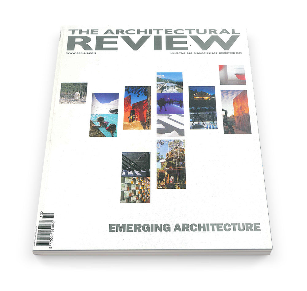 The Architectural Review Issue 1270, December 2002