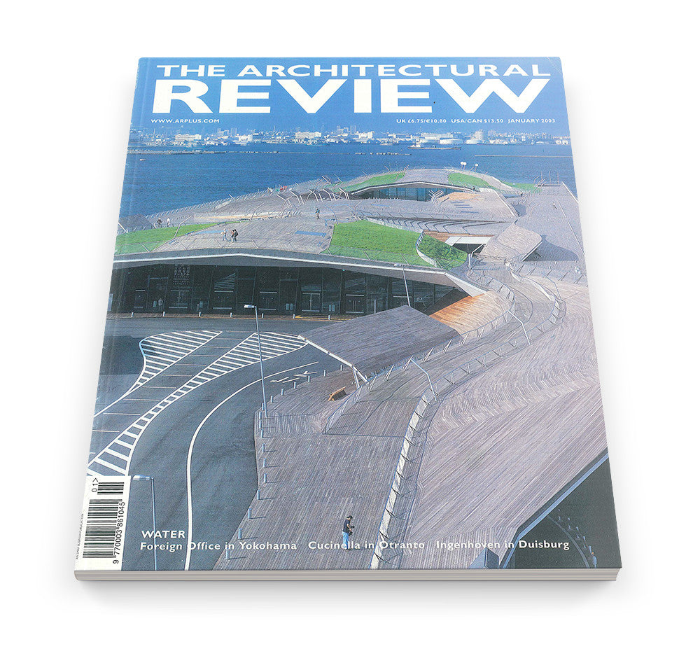The Architectural Review Issue 1271, January 2003