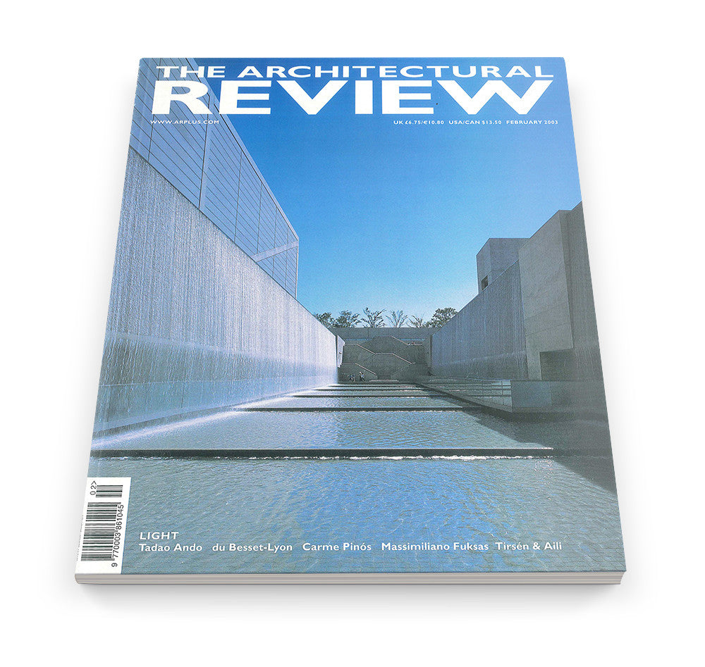 The Architectural Review Issue 1272, February 2003