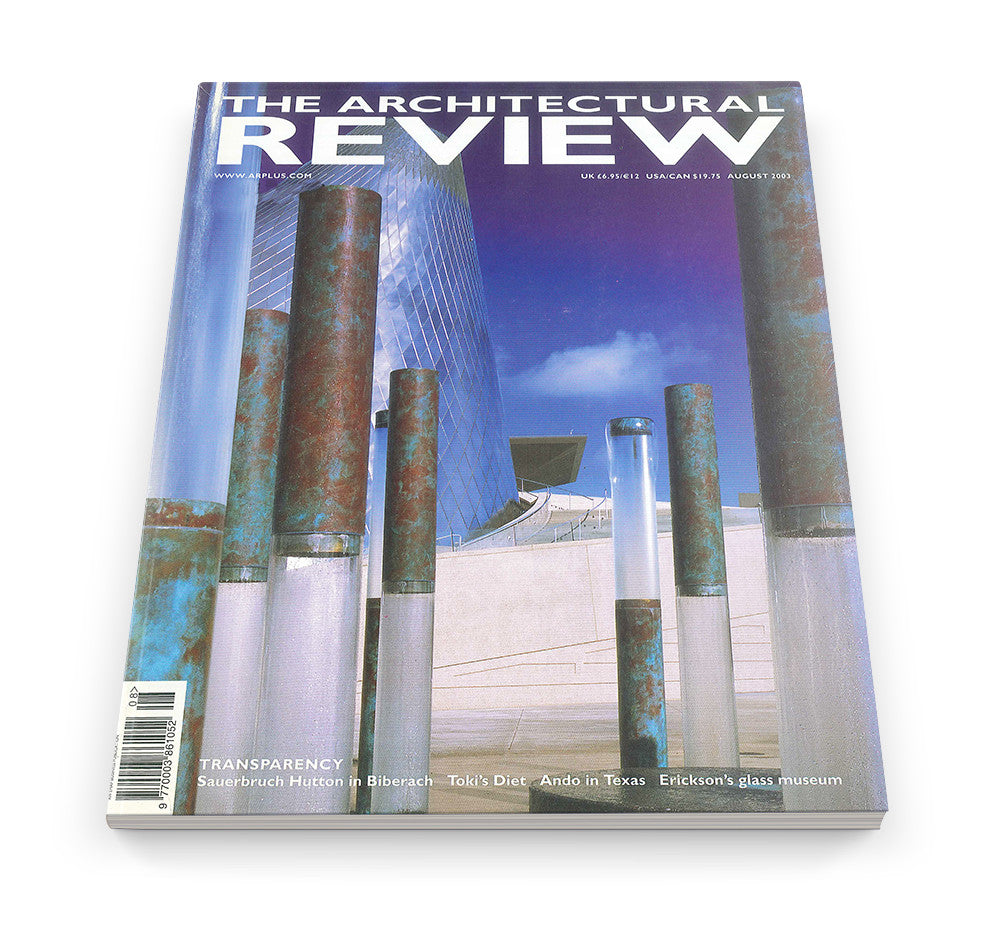 The Architectural Review Issue 1278, August 2003