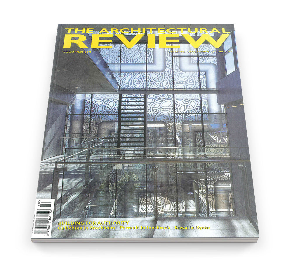 The Architectural Review Issue 1280, October 2003