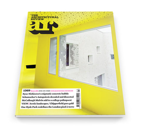 The Architectural Review Issue 1369, March 2011