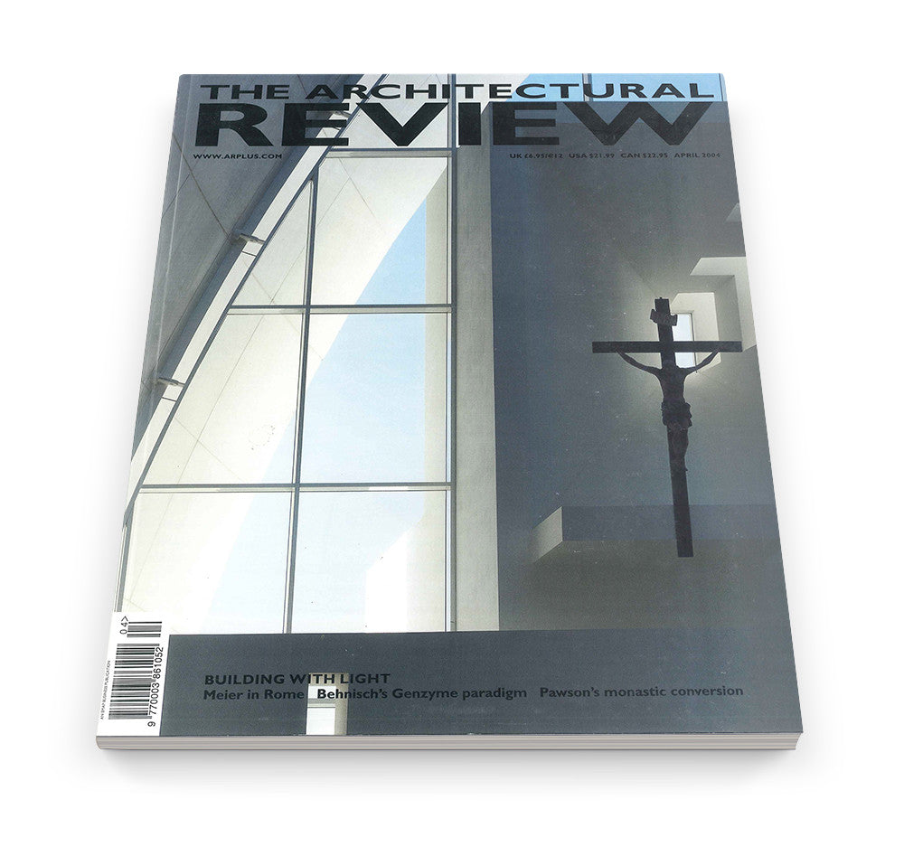 The Architectural Review Issue 1286, April 2004