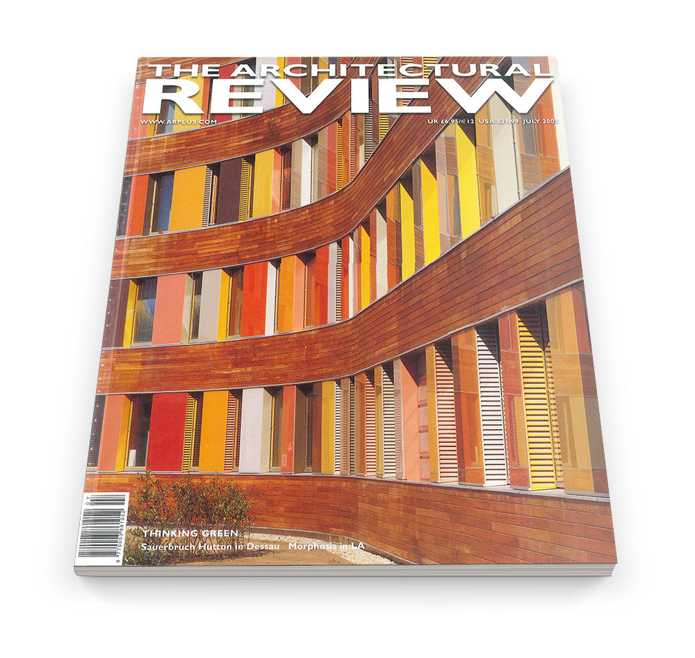 The Architectural Review Issue 1301, July 2005