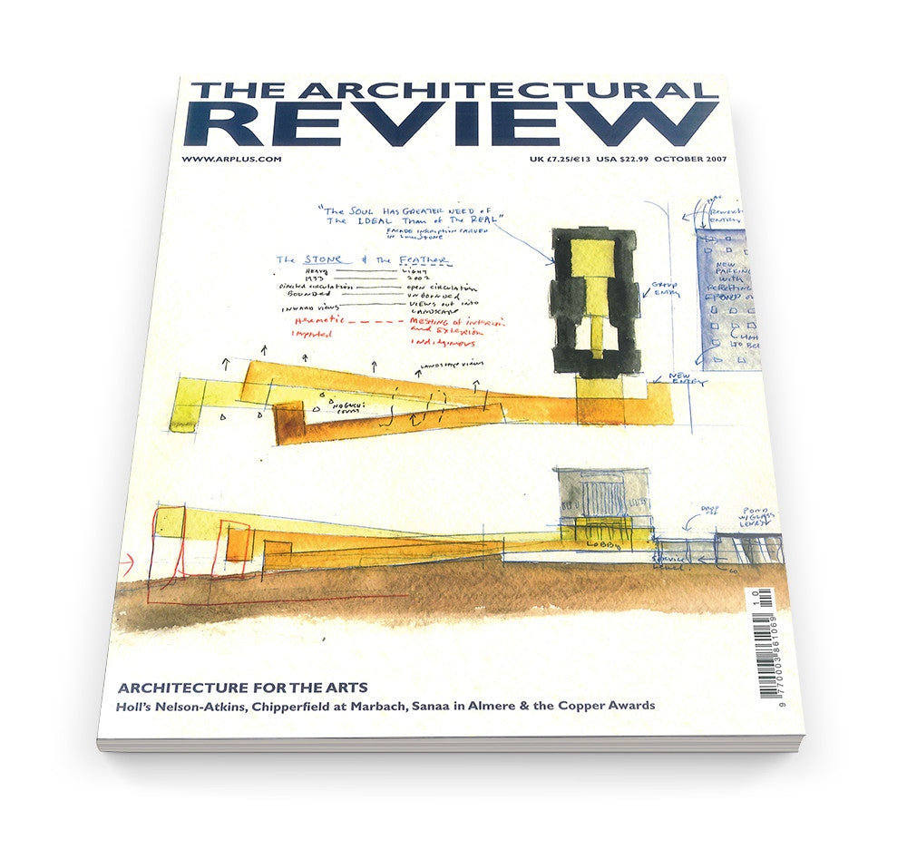 The Architectural Review Issue 1328, October 2007