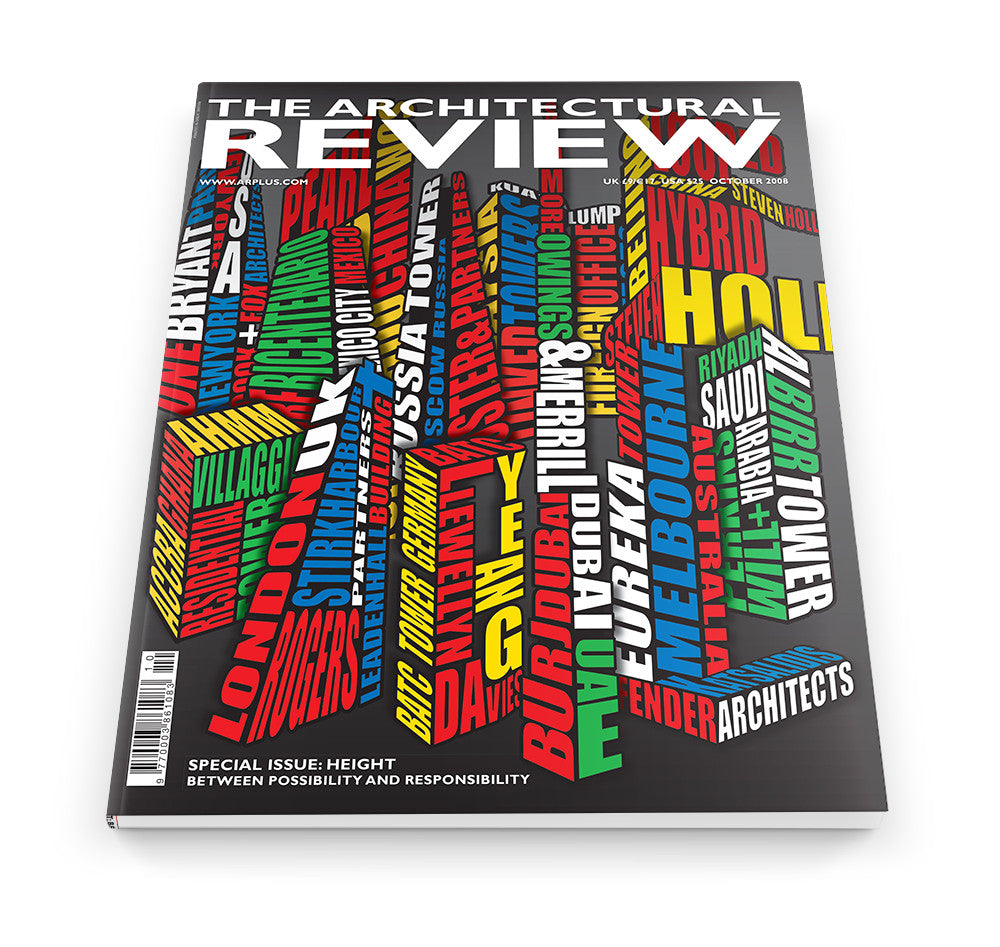 The Architectural Review Issue 1340, October 2008