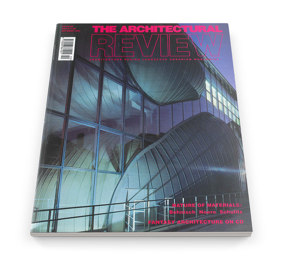 The Architectural Review Issue 1208, October 1997