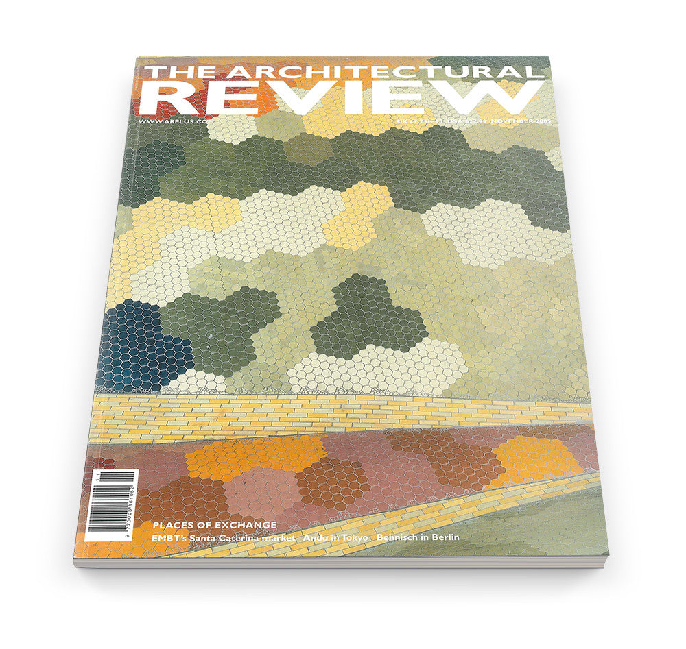 The Architectural Review Issue 1305, November 2005
