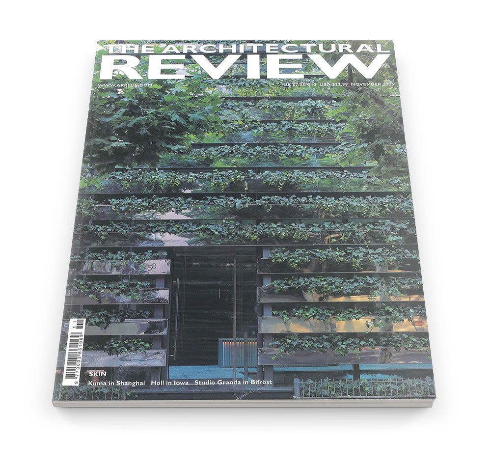 The Architectural Review Issue 1317, November 2006