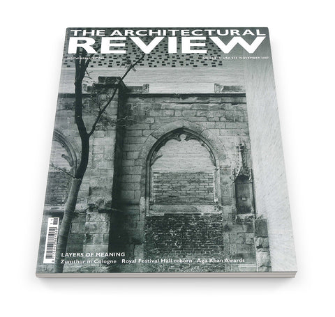 The Architectural Review Issue 1329, November 2007