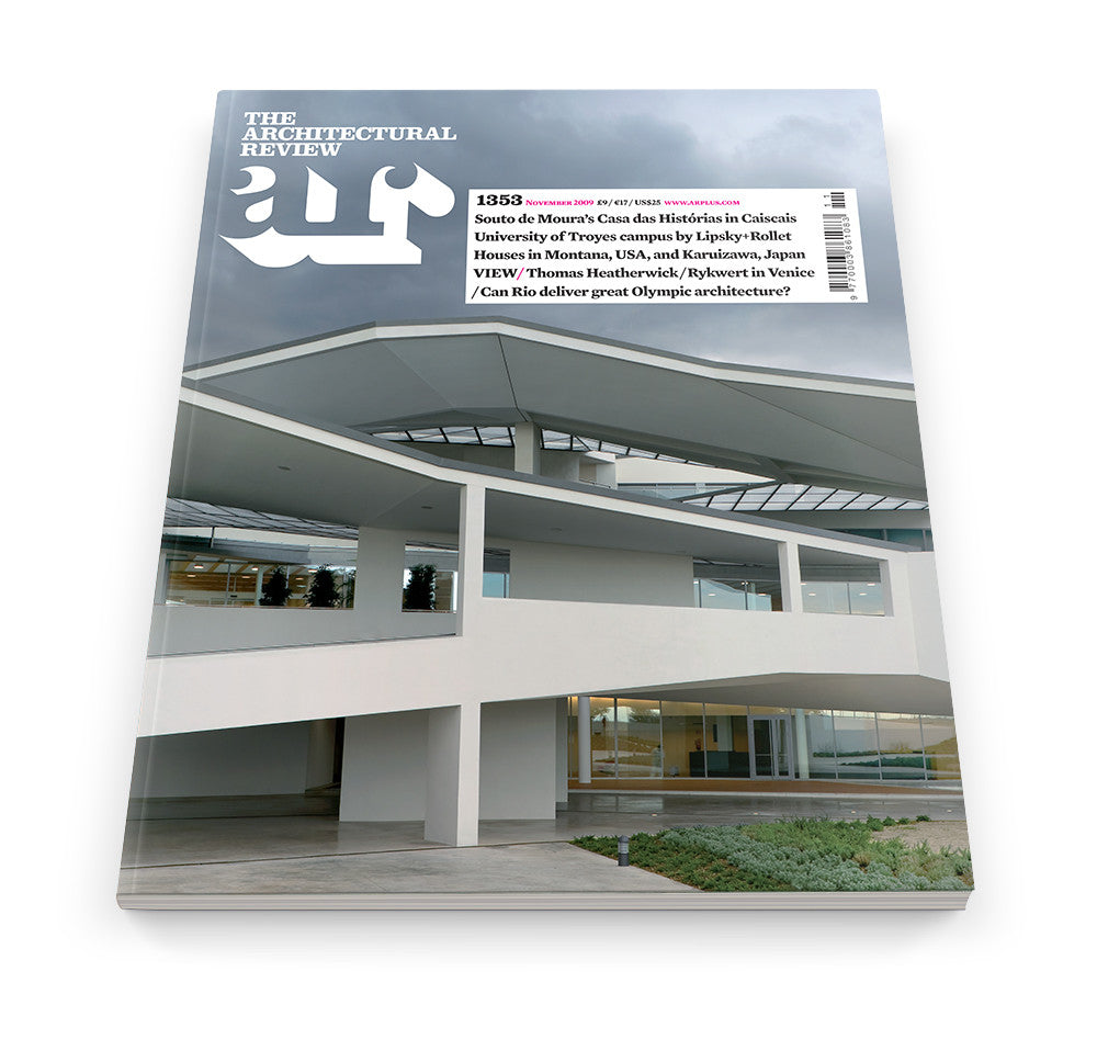 The Architectural Review Issue 1353, November 2009