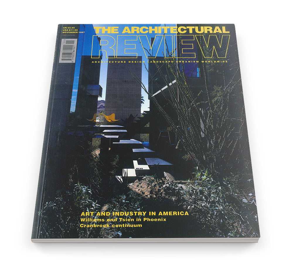 The Architectural Review Issue 1209, November 1997