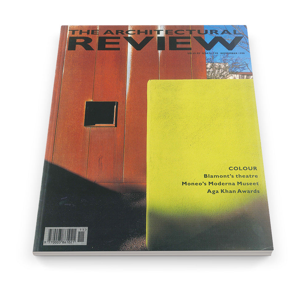 The Architectural Review Issue 1221, November 1998