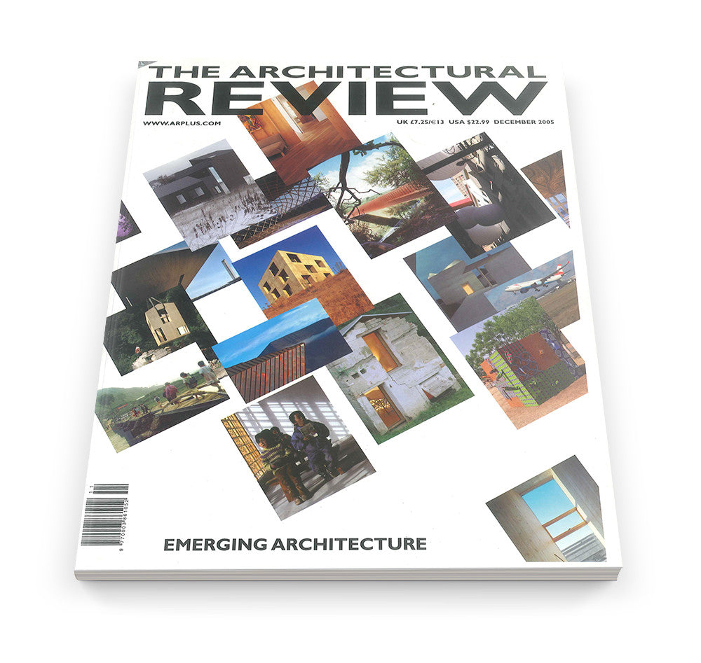 The Architectural Review Issue 1306, December 2005