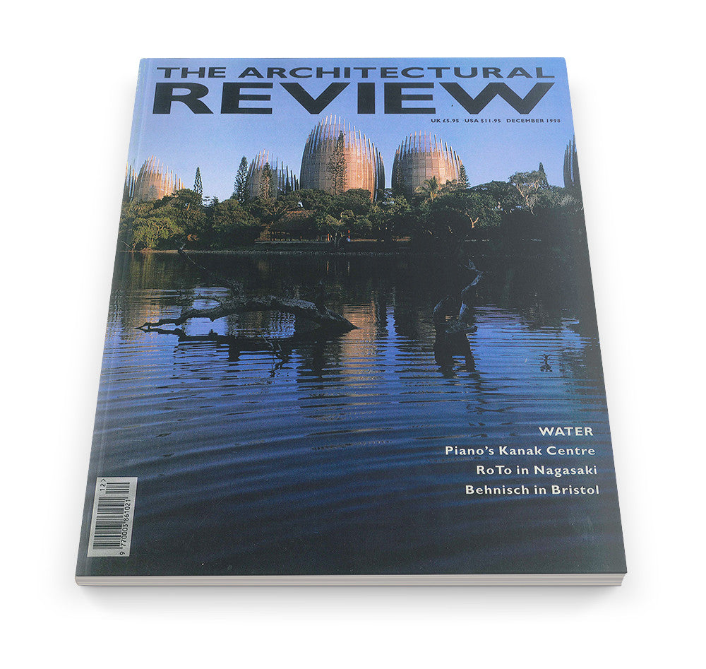 The Architectural Review Issue 1222, December 1998