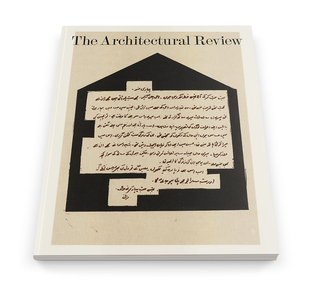 AR September 2020 on Letters to a young architect: The Architectural Review online store