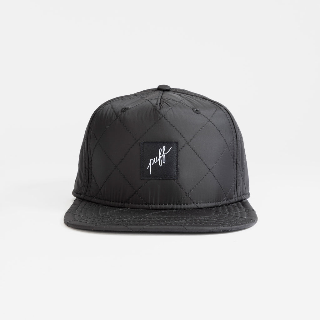 Puff - Quilted Black