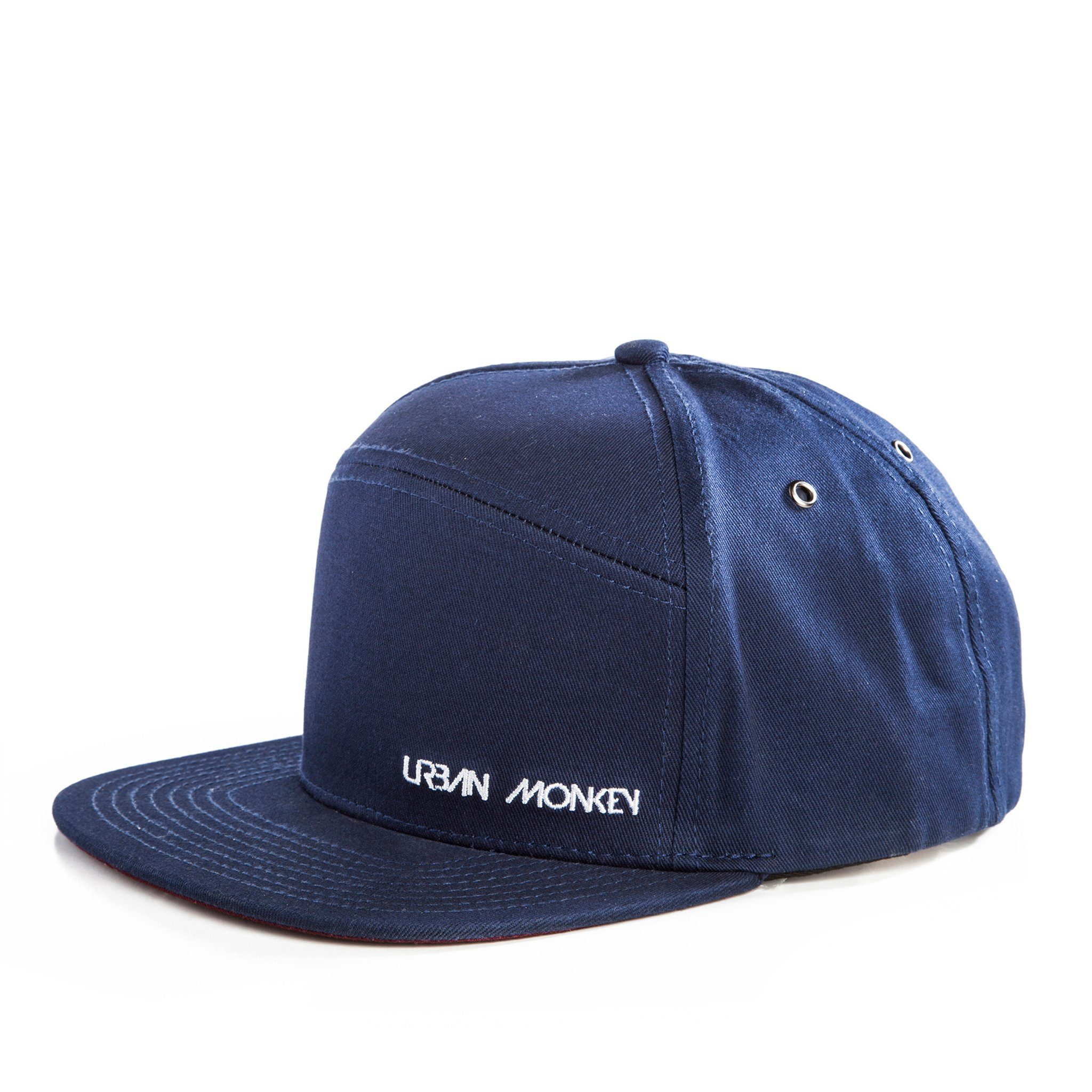 Royal Blue 6 Panel Snapback Cap