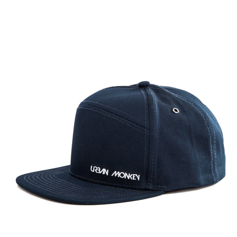 Blueish 6 Panel Snapback Cap
