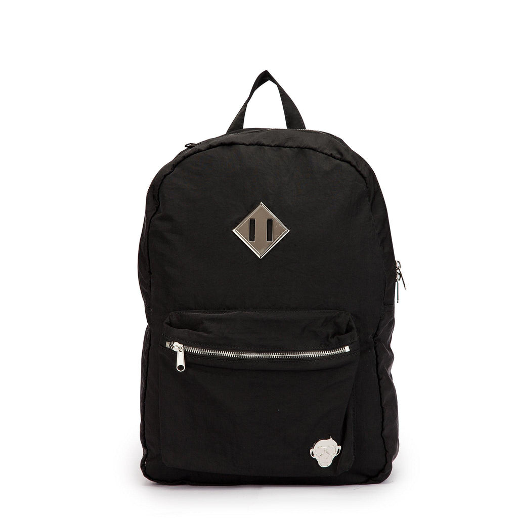 midnight black laptop backpack