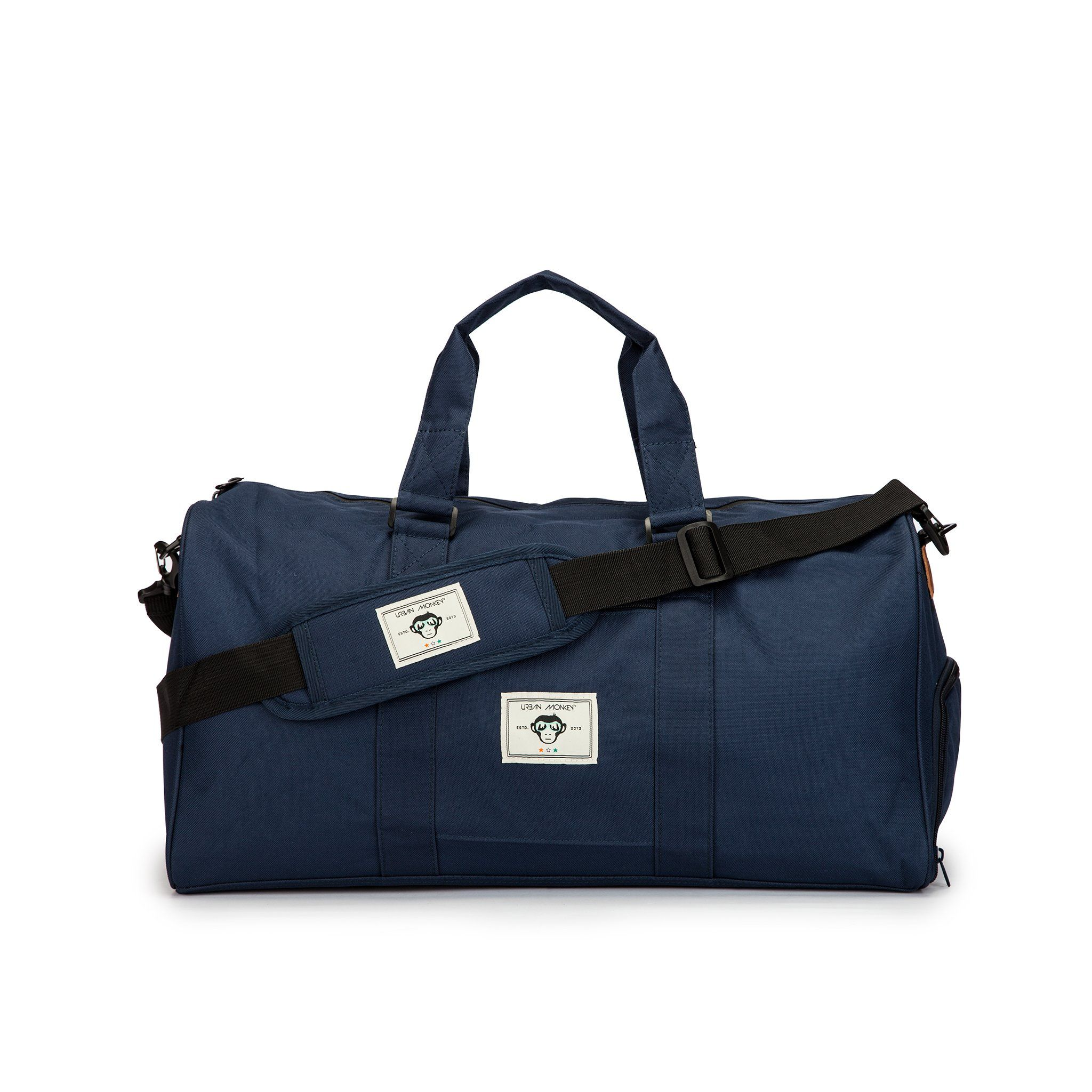the truffle bag royal blue front
