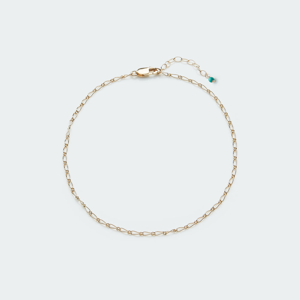 Nori anklet gold