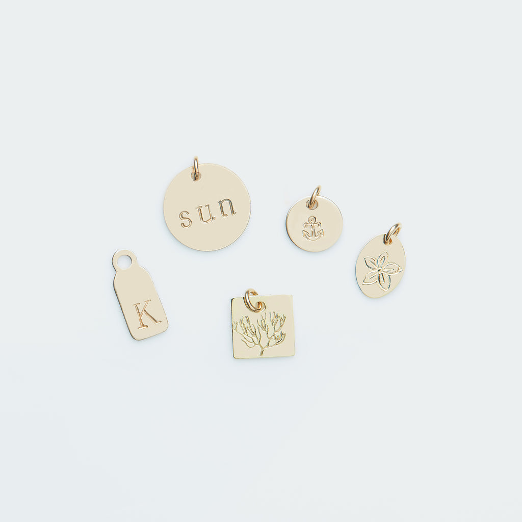 Add-on pendant gold