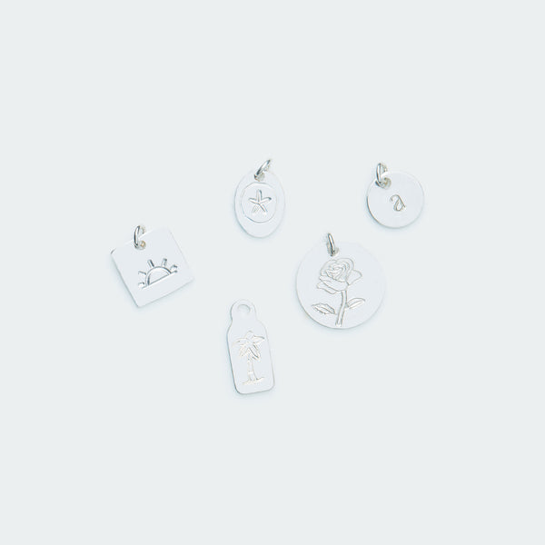 Add-on pendant silver